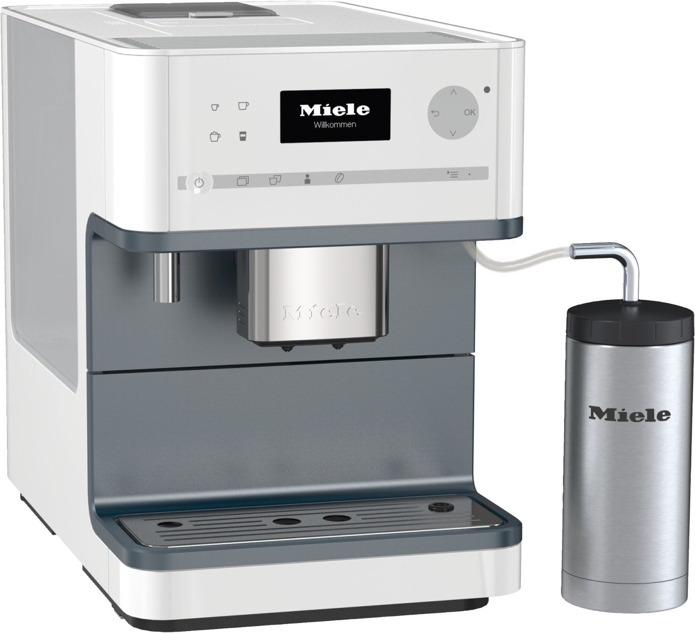 Miele cm 6300 kaffeevollautomat test for Miele vollautomat