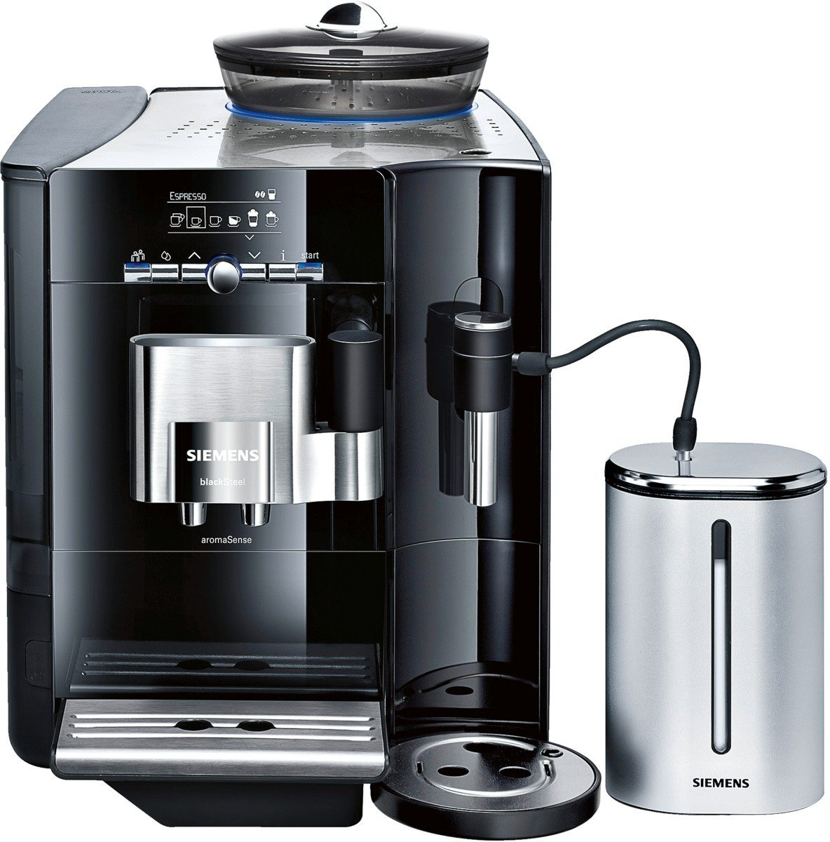 siemens te716519de kaffee vollautomat eq 7 plus aroma sense kaffeevollautomat test. Black Bedroom Furniture Sets. Home Design Ideas